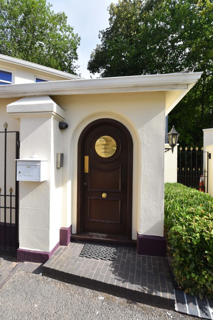 Entrance to Birmingham Safety Deposit Ltd
